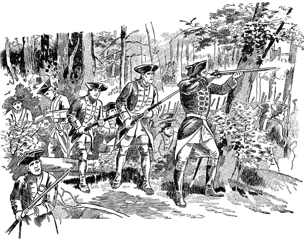Civil War clipart french and indian war & Shot and French French