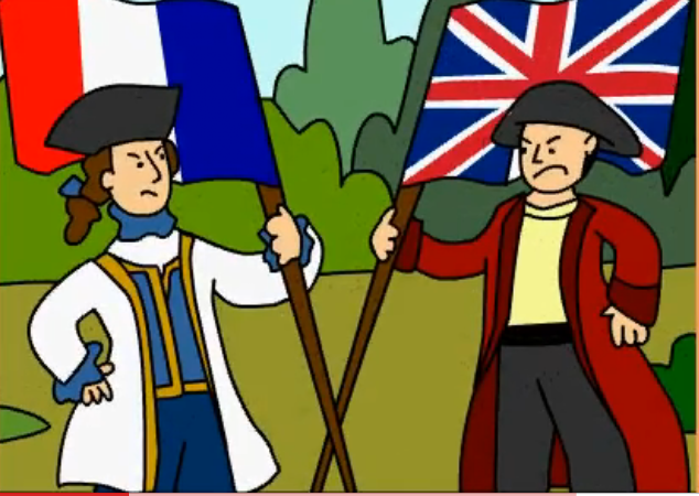 Civil War clipart french and indian war Modified happened French Indian :