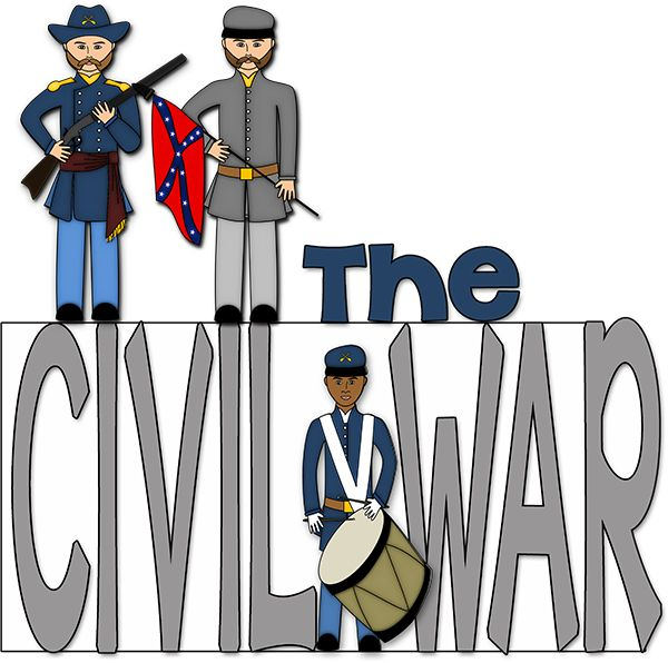 Civil War clipart history lesson Images War History: 136 Pinterest