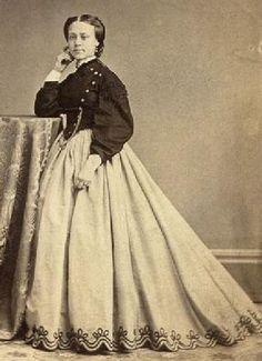 Civil War clipart lady Ideas Dress Patterning 1860 jacket