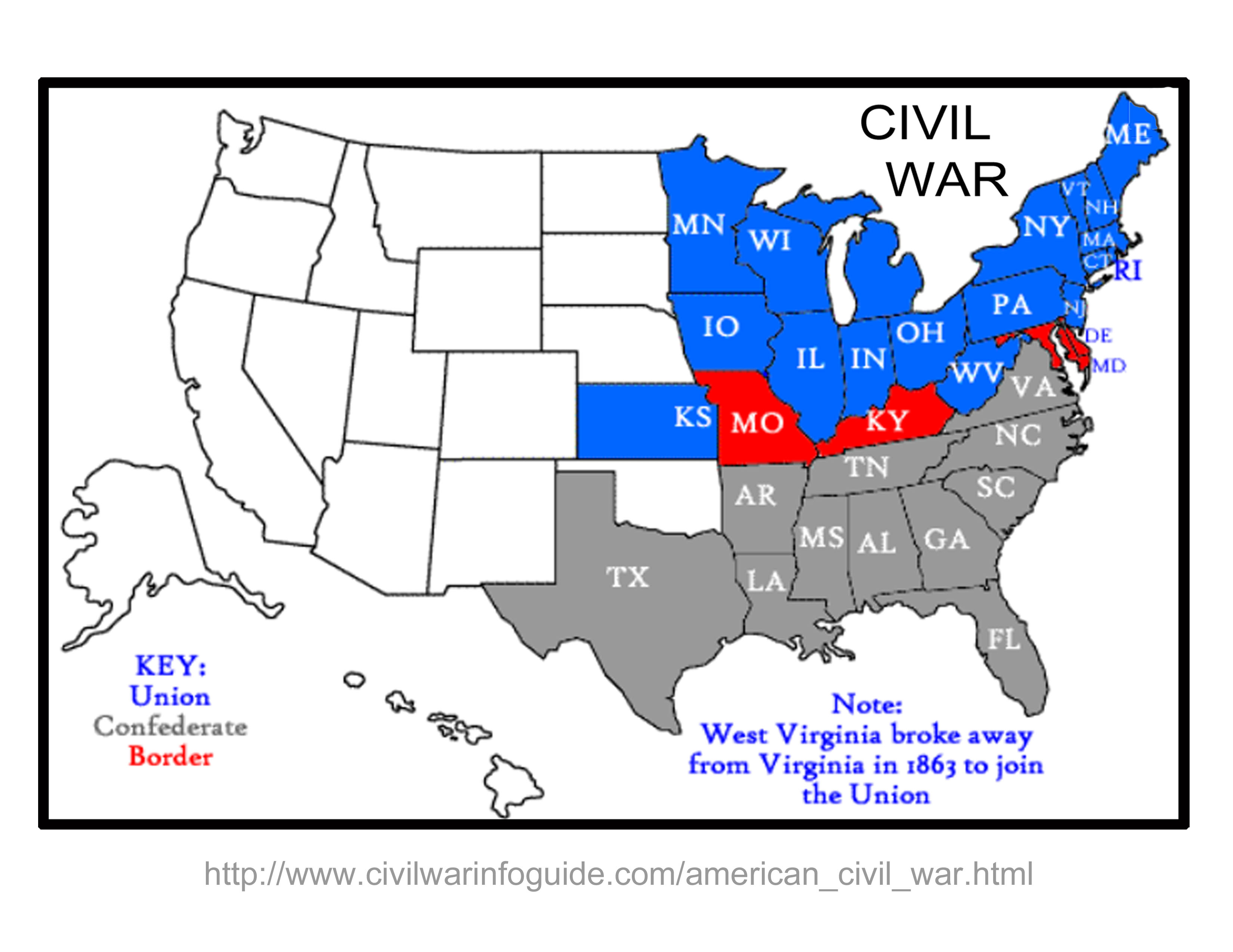 Civil War clipart north and south america America War War The of