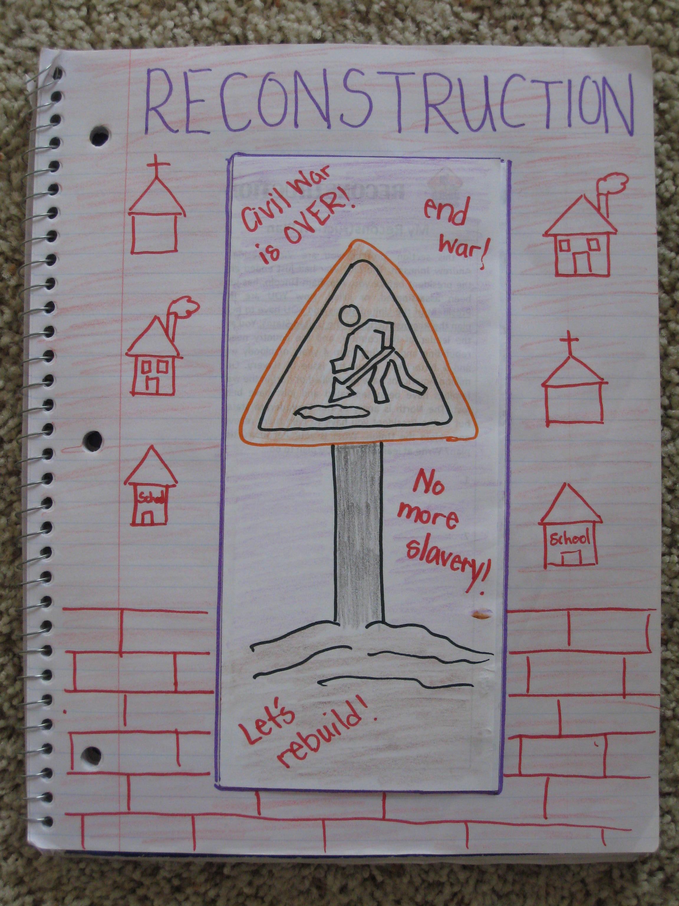 Civil War clipart reconstruction War reconstruction the ideas war