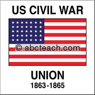 Civil War clipart union flag Flag union Union (55+) Art