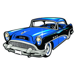 Classic Car clipart Art Image of Car Clip