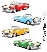 Classic Car clipart blue MIRO3D1/263; 164 classic four Car