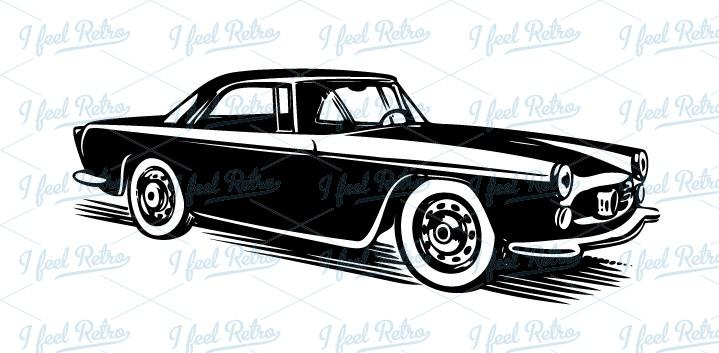 Classics clipart antique car Classic Retro Clipart: car car