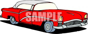 Classic clipart 50's Collection 50s Classic Clipart Car