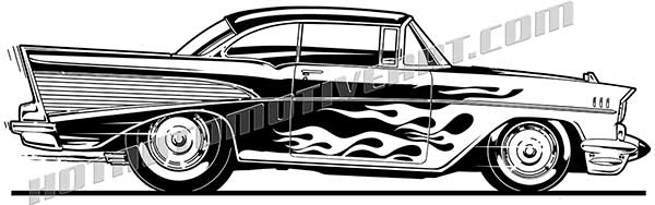 Classics clipart chevy Street buy Rod one Chevy