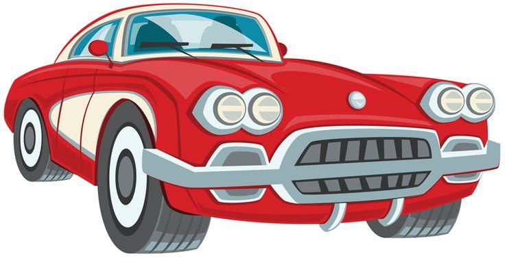 Classic Car clipart convertible Free car clipart Pinterest classic