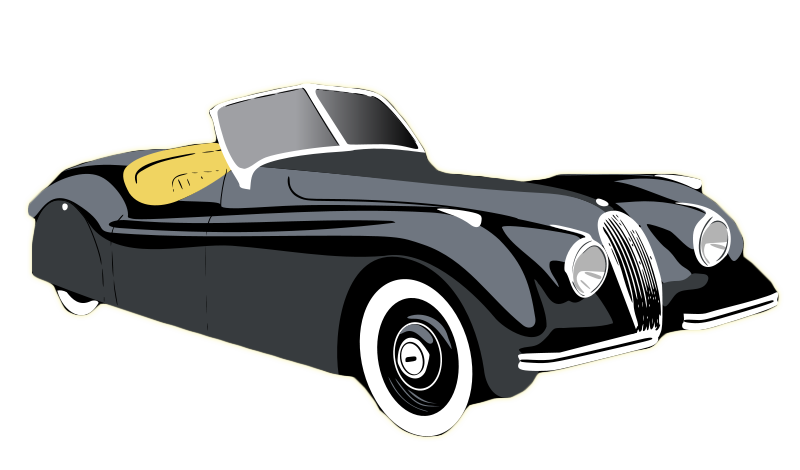 Classic clipart vintage Art and Inspiration Vintage Car