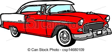 Classical clipart old fashioned car Clipart Vector Vintage Vintage Illustration