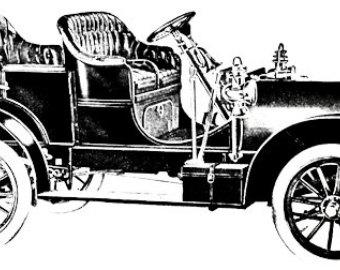 Classic Car clipart automobile Art graphics automobile Etsy clipart