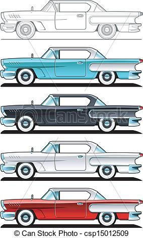 Classic Car clipart automobile Of Car 60s of Cars