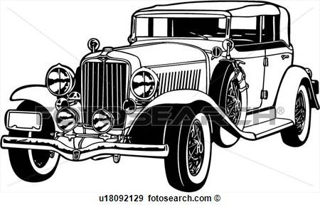 Classic Car clipart automobile Free Clip Art Clipart Free