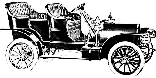 Classic Car clipart automobile Clip Digital antique automobile stamp