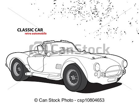 Classic Car clipart background Car Classic on white car