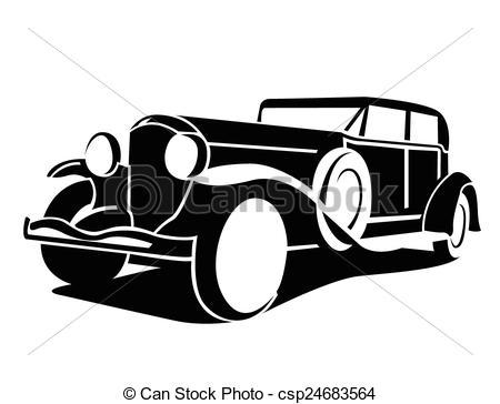 Classics clipart antique car Classic Car Symbol car Classic