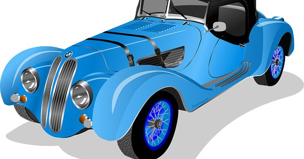 Classic Car clipart blue The Pinterest • of world's