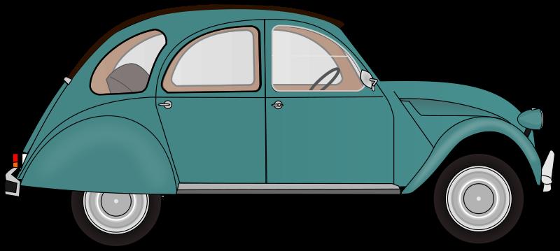 Classic Car clipart blue Clip Car Automobile Art Download