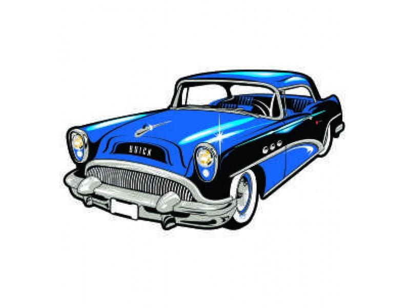 Classic Car clipart blue Show Moonlight Patch Memories' Car