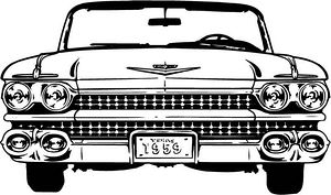 Classic Car clipart cadillac And with Sock or –
