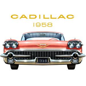 Classic Car clipart cadillac Vintage Cadillac Polyvore Art ::