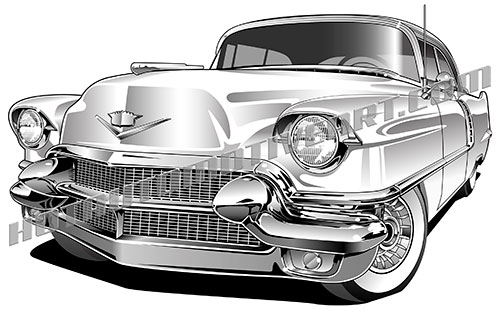 Classic Car clipart cadillac Free coupe two get 56