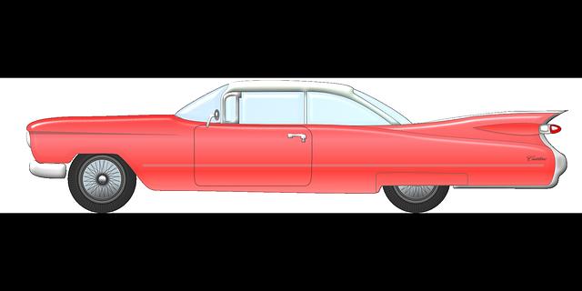 Classic Car clipart cadillac Car Clipart on Cadillac car
