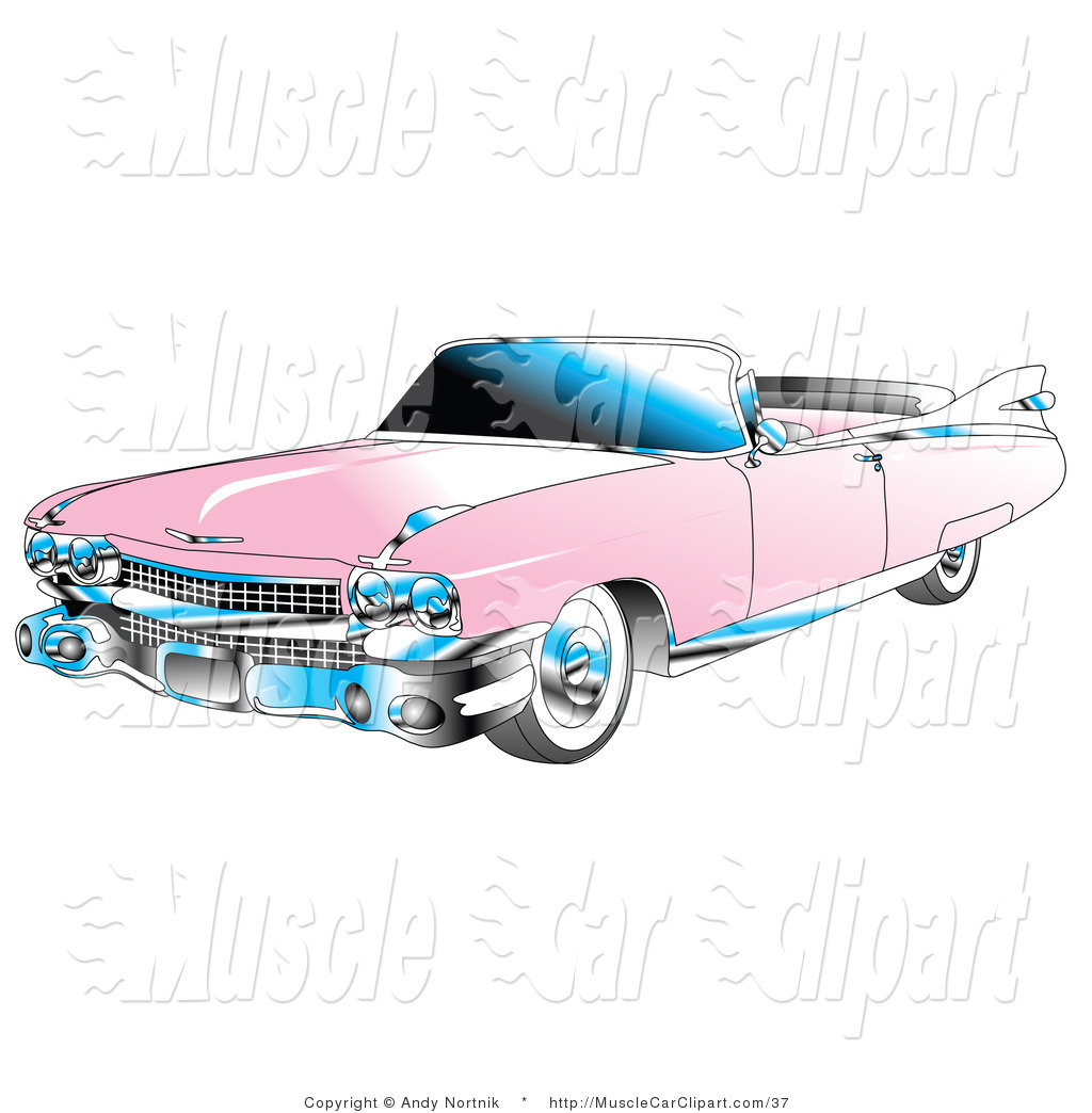 Classic Car clipart cadillac Muscle Car Stock Classic Royalty