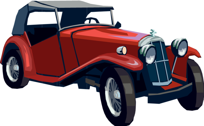 Classical clipart old fashioned car #33032 image Icons Cars Clipart