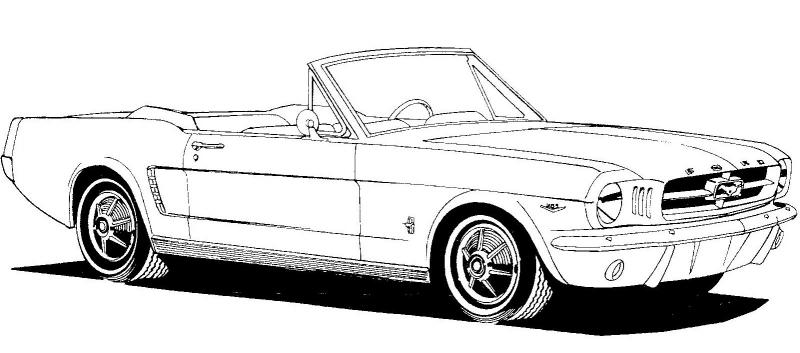 Classic Car clipart convertible Convertible%20clipart Free Clipart Mustang Clipart
