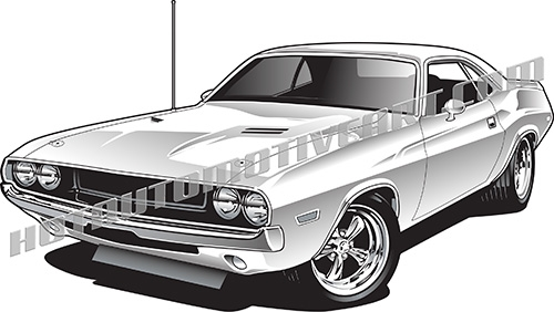Dodge clipart supercar Challenger images clipart high vector