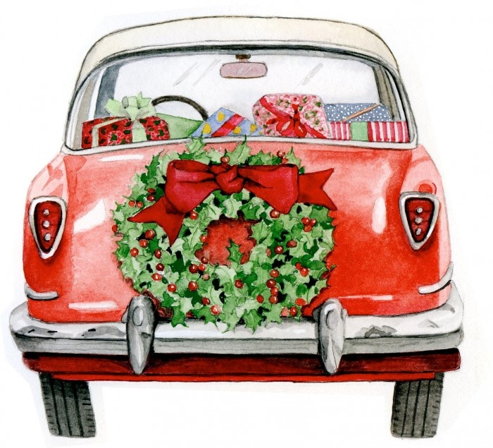 Classic Car clipart first Car our Christmas are we