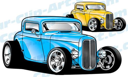 Classics clipart street rod Art com Vector Hot 1932