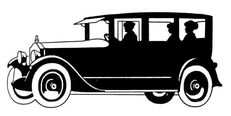 Classic Car clipart front view Art Clip  Download clipart