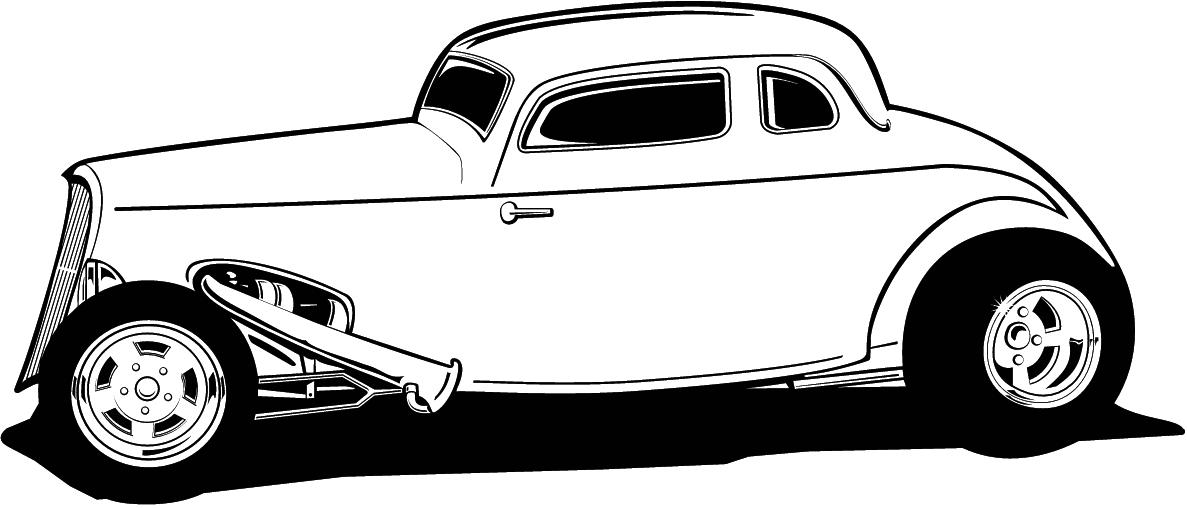 Classics clipart street rod Of Clipart Cartoon Classic Free