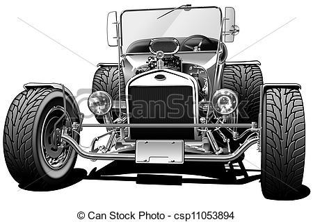 Classics clipart street rod Classic Illustration Hot Hot and