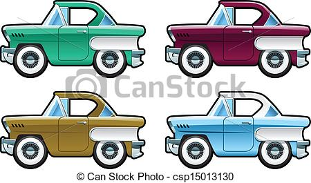 Classic Car clipart illustration a Cars body of Car part