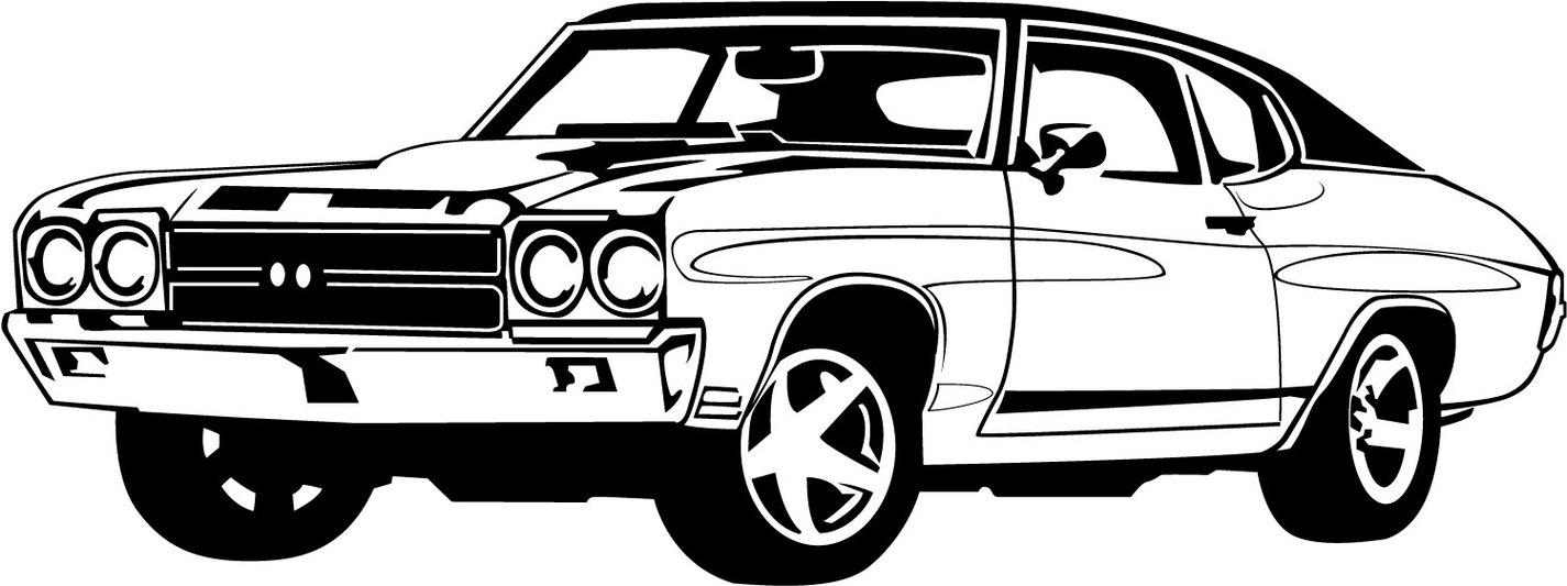 Classic Car clipart illustration a Car Clip 101 Art Clipart