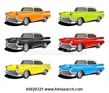 Classic Car clipart illustration a Car Classic Clipart to search