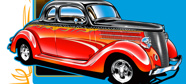 Classic Car clipart line art Others Classic Car Show and