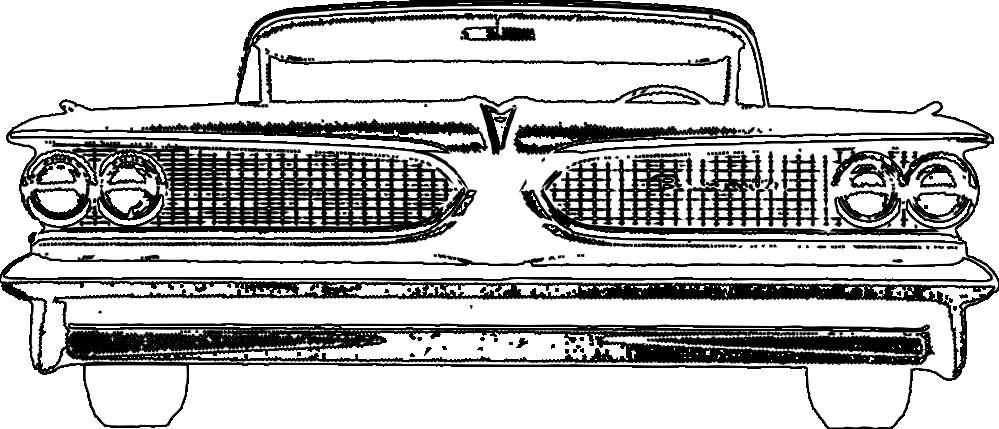 Classic Car clipart line art Coloring  Classic Car Art