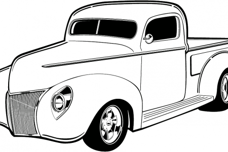Classic Car clipart line art Just Old t Car Old