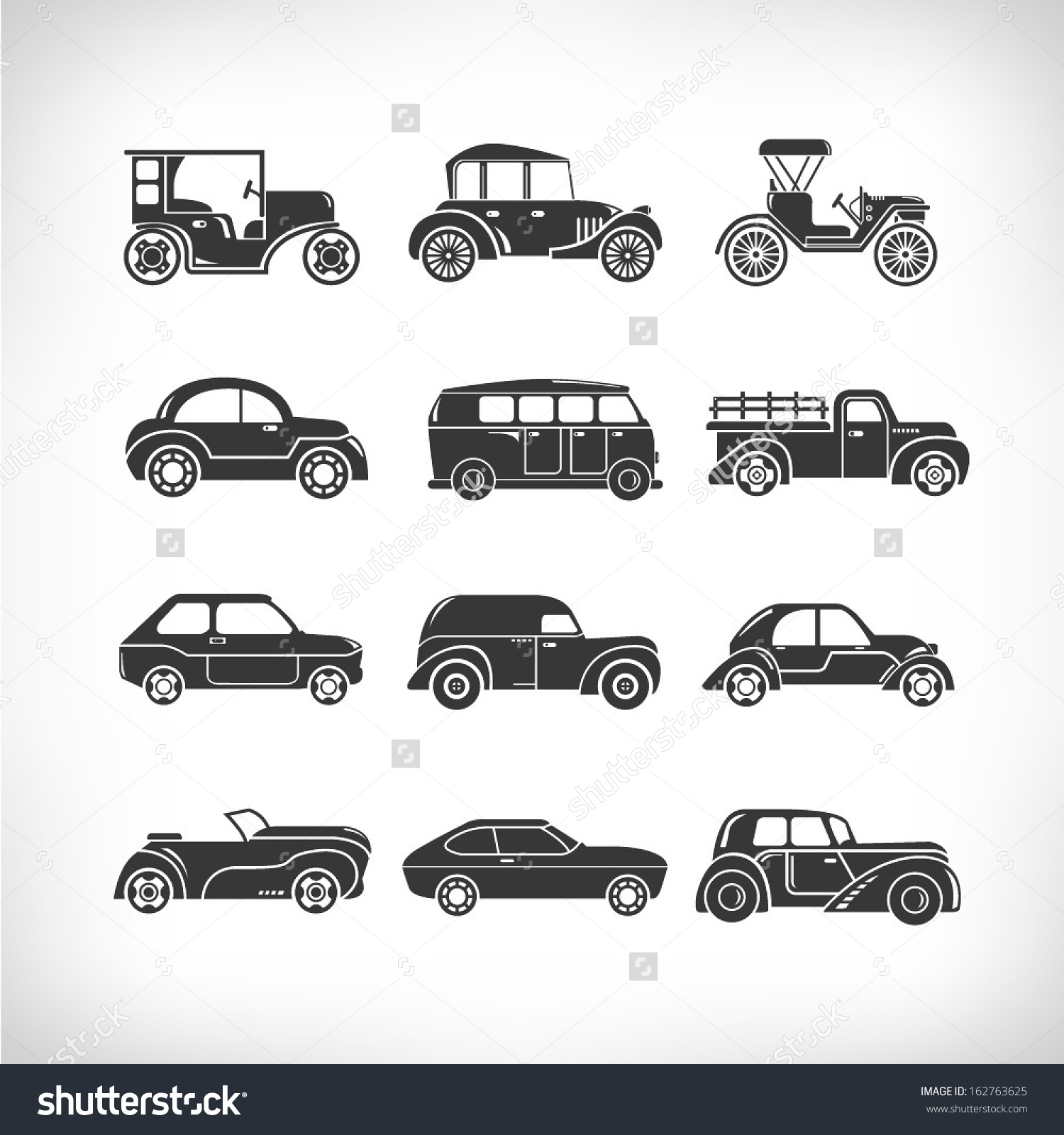 Classic Car clipart modern car Car icons result classic Tattoo