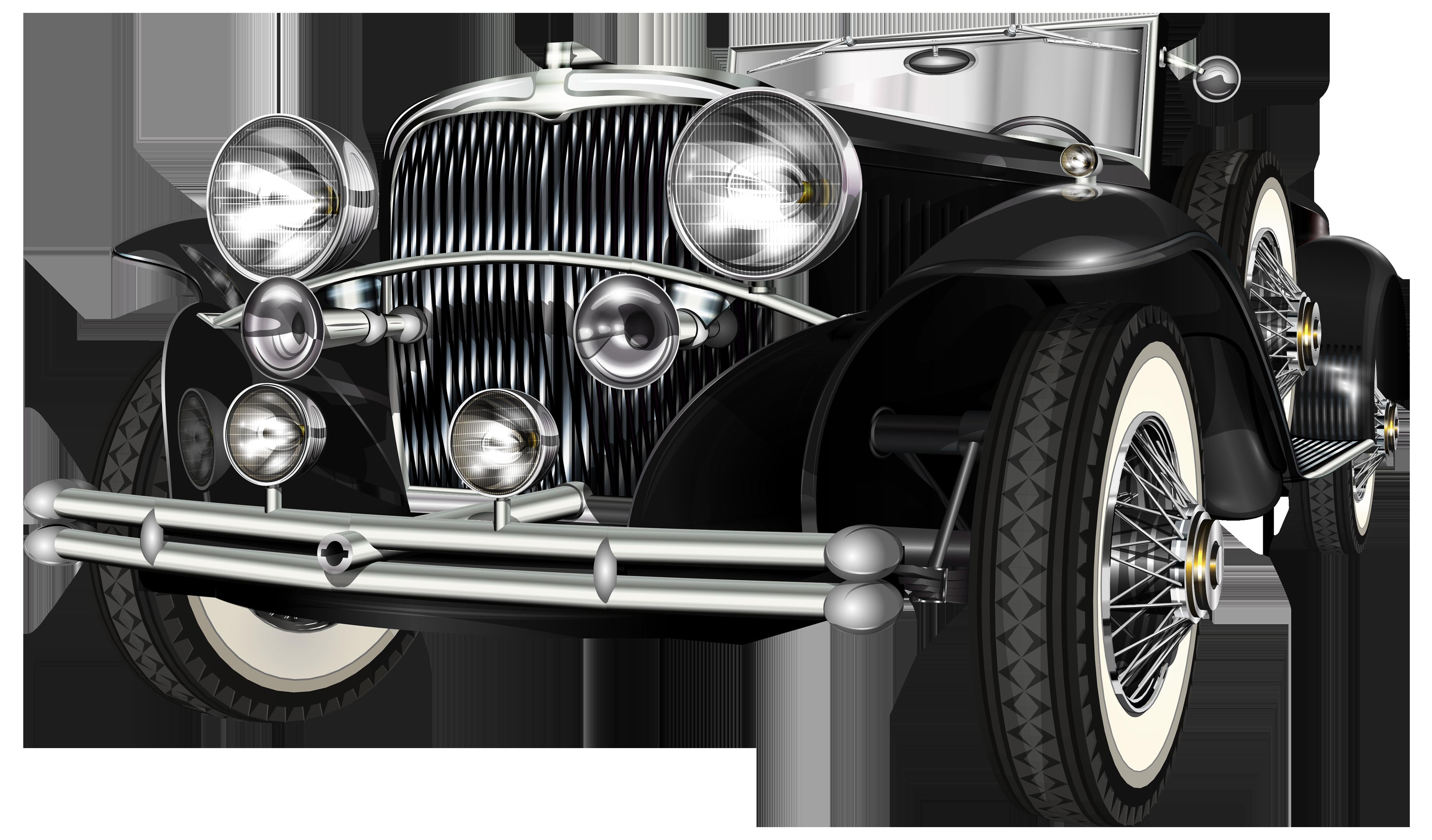 Classic Car clipart modern car Best Art Retro PNG Car