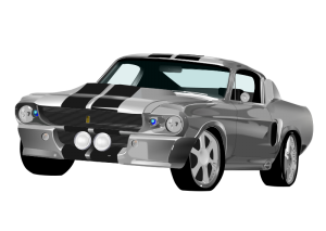 Classic clipart classic muscle car Download Car Classic Art Mustang