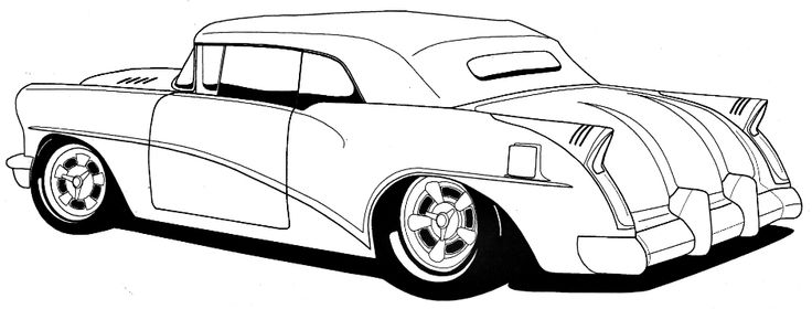 Classic clipart classic muscle car Rod Clip Rods Free Art