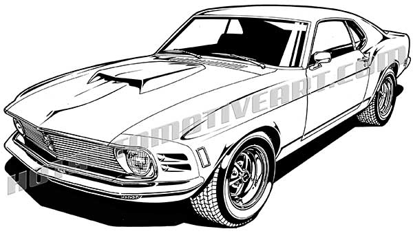 Dodge clipart mustang car Clipart Muscle collection muscle clipart