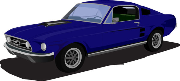 Dodge clipart mustang car Clipart Mustang Collection car stallion