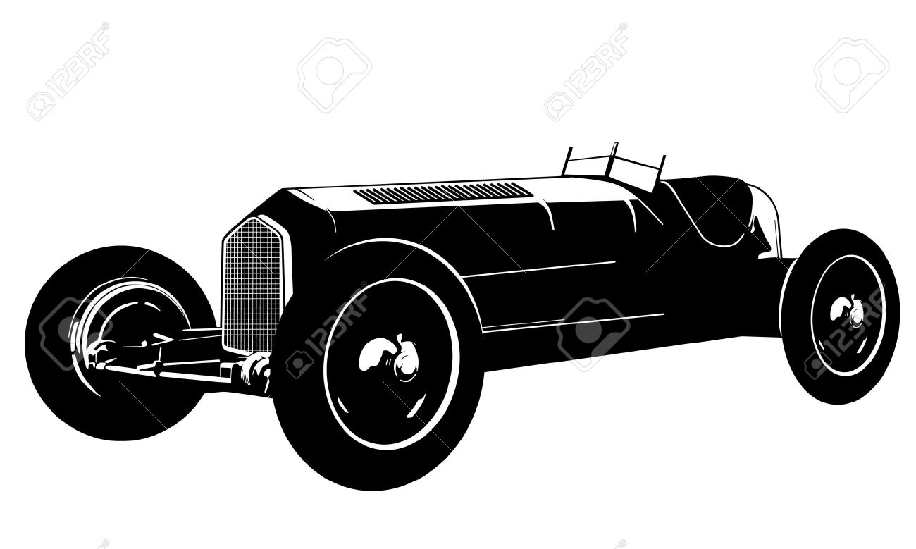 Classical clipart old fashioned car · Clipart Vintage Coupe Car